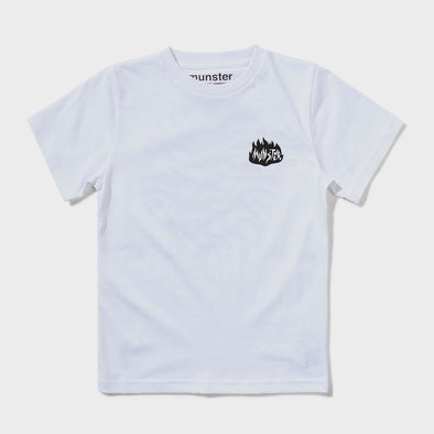 T-Shirt On Fire White