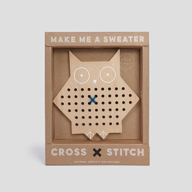 Kreuzstich Cross Stitch Owl