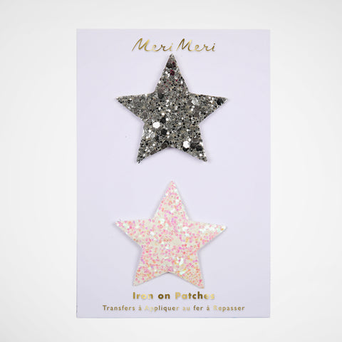 Patches Glitter Stars
