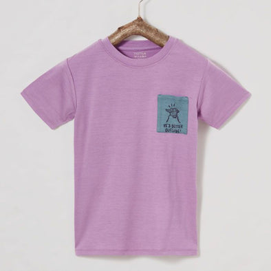 T-Shirt Ibo Merino Purple