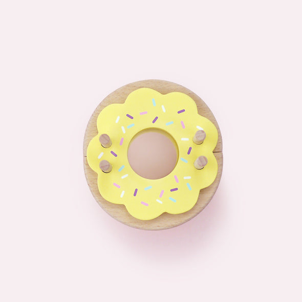Pompon Maker Donut Lemon