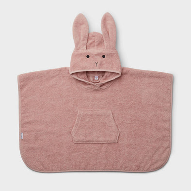 Badeponcho Rabbit Rose
