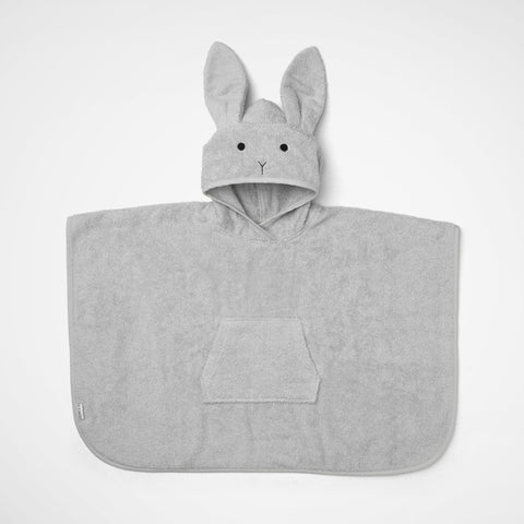 Badeponcho Rabbit grey