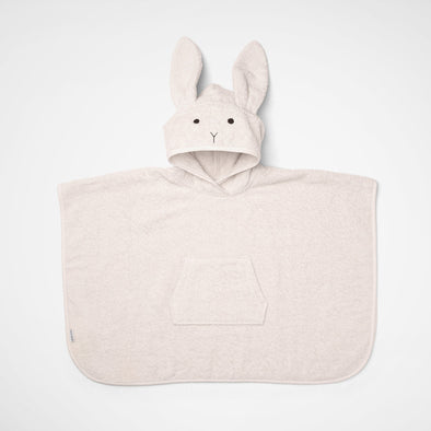 Badeponcho Rabbit Sweet Rose