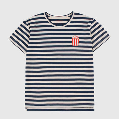 T-Shirt Popcorn Stripes