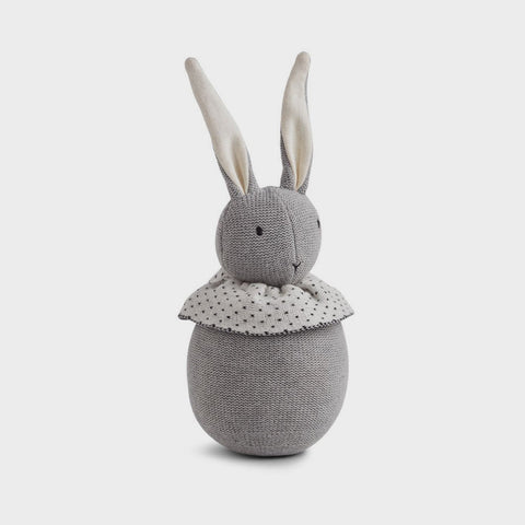Hase Rabbit grey melange