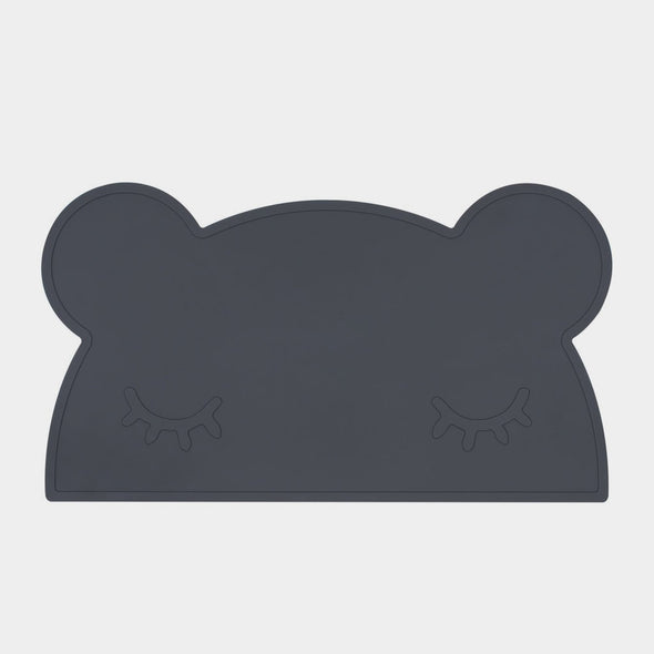 Tischset Bear Charcoal