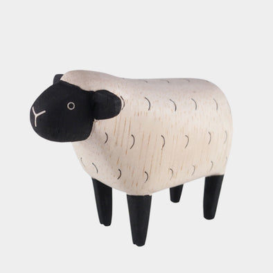 Holzfigur Sheep