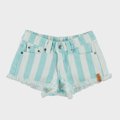 Shorts Light Blue Stripes