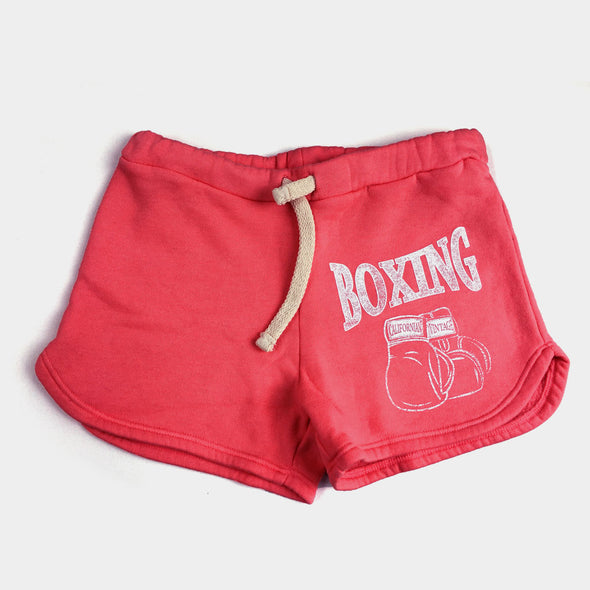 Shorts Gloves Red