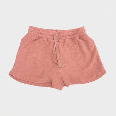 Shorts Terry Rose Tan