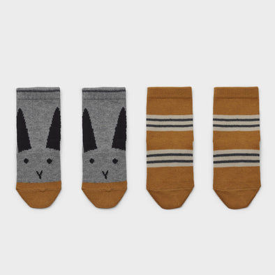 Socken Rabbit Stripe 2-er Pack