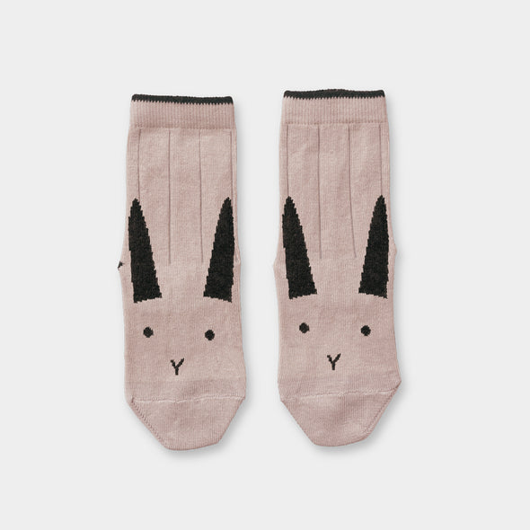Socken Rabbit rose 2er Pack