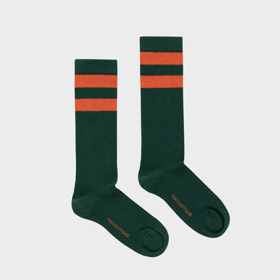 Socken Stripes green