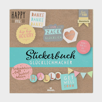 Happy me Stickerbuch
