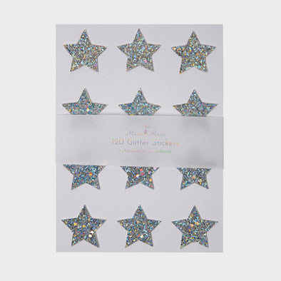 Stickers Silver Stars