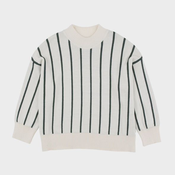 Pullover Stripes Mock