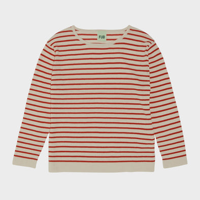 Pullover Stripe Red