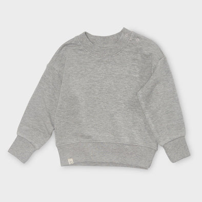 Sweatshirt Terry Fleece Grey