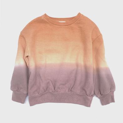 Sweatshirt Tie Dye Orange