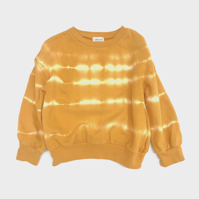 Sweatshirt Tie Dye Yellow
