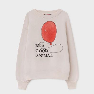 Sweatshirt Bear White Balloon
