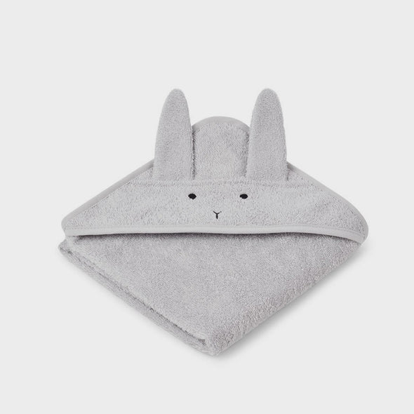 Baby-Badetuch Rabbit dumbo grey