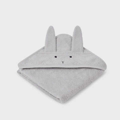 Baby-Badetuch Rabbit dumbo grey klein