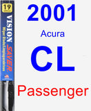 Passenger Wiper Blade for 2001 Acura CL - Vision Saver