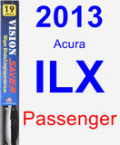 Passenger Wiper Blade for 2013 Acura ILX - Vision Saver