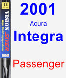 Passenger Wiper Blade for 2001 Acura Integra - Vision Saver