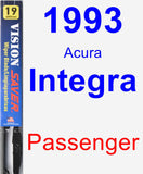 Passenger Wiper Blade for 1993 Acura Integra - Vision Saver