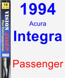 Passenger Wiper Blade for 1994 Acura Integra - Vision Saver