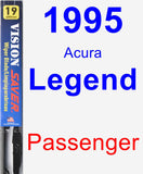 Passenger Wiper Blade for 1995 Acura Legend - Vision Saver