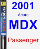 Passenger Wiper Blade for 2001 Acura MDX - Vision Saver