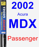 Passenger Wiper Blade for 2002 Acura MDX - Vision Saver