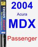 Passenger Wiper Blade for 2004 Acura MDX - Vision Saver
