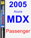 Passenger Wiper Blade for 2005 Acura MDX - Vision Saver