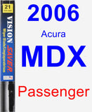Passenger Wiper Blade for 2006 Acura MDX - Vision Saver