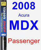 Passenger Wiper Blade for 2008 Acura MDX - Vision Saver