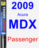 Passenger Wiper Blade for 2009 Acura MDX - Vision Saver