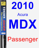 Passenger Wiper Blade for 2010 Acura MDX - Vision Saver