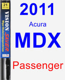 Passenger Wiper Blade for 2011 Acura MDX - Vision Saver
