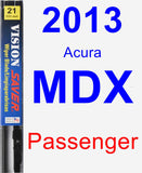 Passenger Wiper Blade for 2013 Acura MDX - Vision Saver