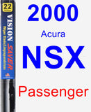 Passenger Wiper Blade for 2000 Acura NSX - Vision Saver