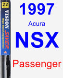 Passenger Wiper Blade for 1997 Acura NSX - Vision Saver