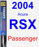 Passenger Wiper Blade for 2004 Acura RSX - Vision Saver