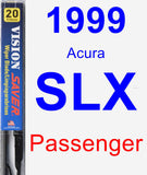 Passenger Wiper Blade for 1999 Acura SLX - Vision Saver