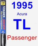 Passenger Wiper Blade for 1995 Acura TL - Vision Saver