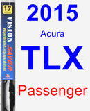 Passenger Wiper Blade for 2015 Acura TLX - Vision Saver